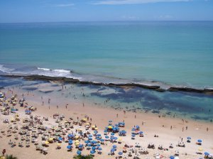Boa Viagem Beach at Low Tide