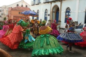 Maracatu in Olinda