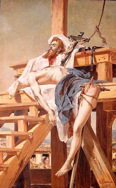 Tiradentes by Pedro Americo 1893