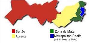 Regions of Pernambuco